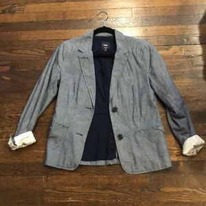 Blue/denim blazer